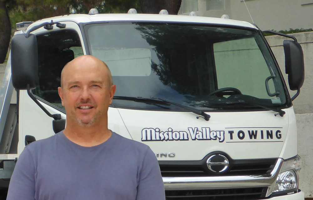 Private Vehicle Delivery Towing in San Diego