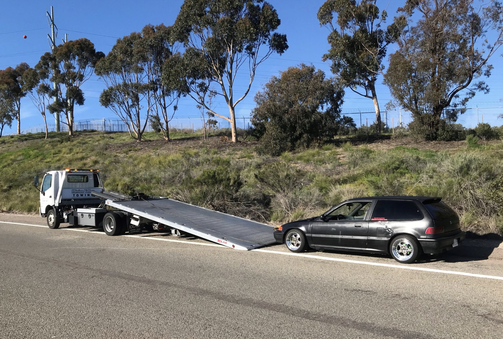 When you need Roadside Assistance in San Diego